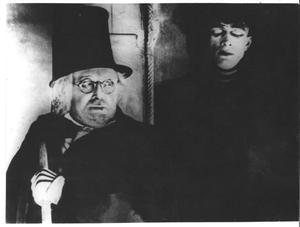Una escena del clásico de terror 'El gabinete del Dr. Caligari'.