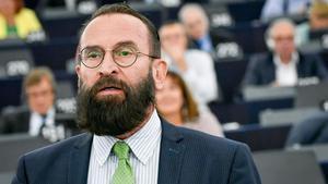 El eurodiputado húngaroJózsef Szájer.