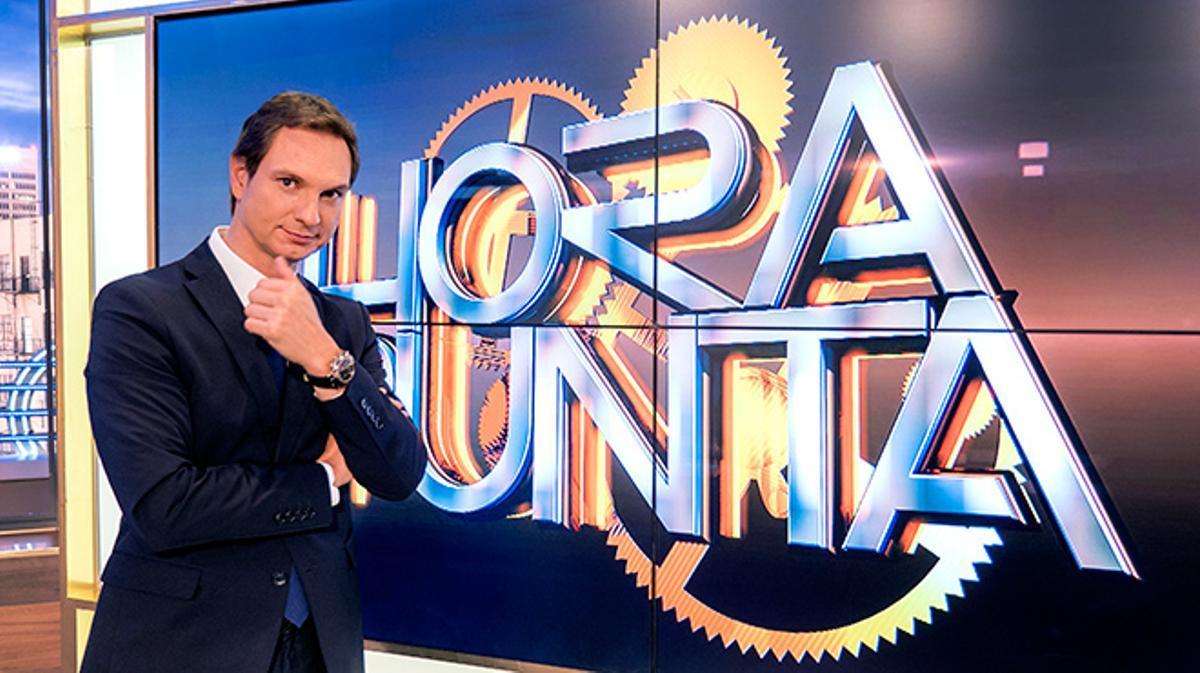 Entrevista con Javier Cárdenas,el presentador de 'Hora punta', de TVE-1.