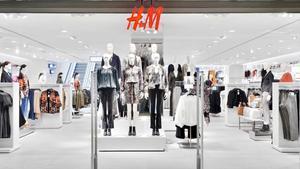 Entrada a una tienda H&M.