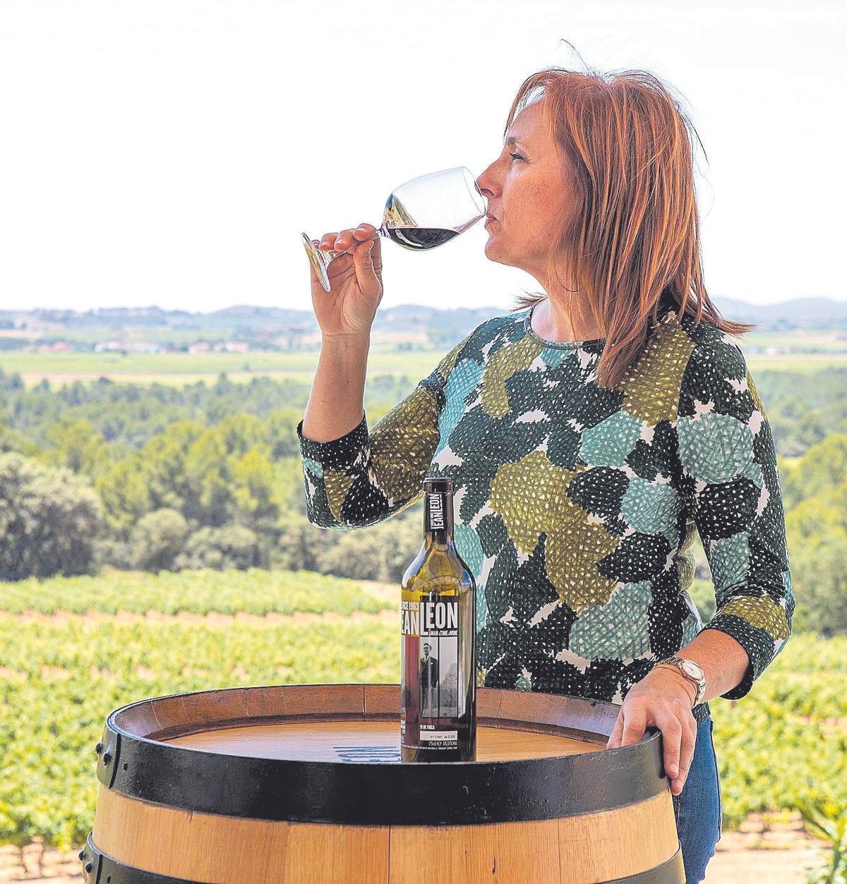 Mireia Torres, enóloga y directora de Innovación de las Bodegas Torres