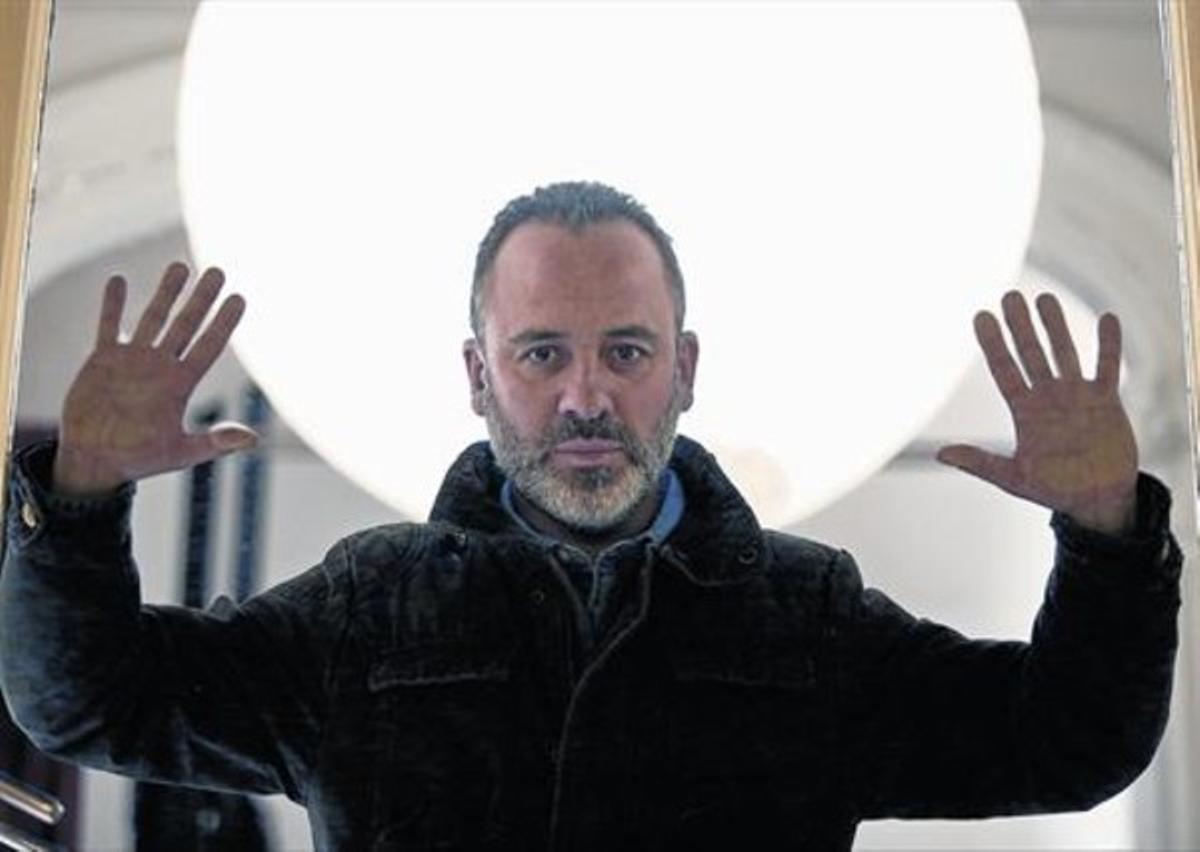 El actor, nacido en Asturias, criado en Ferrol y que se confiesa forofo culé, el pasado miércoles, en Madrid.
