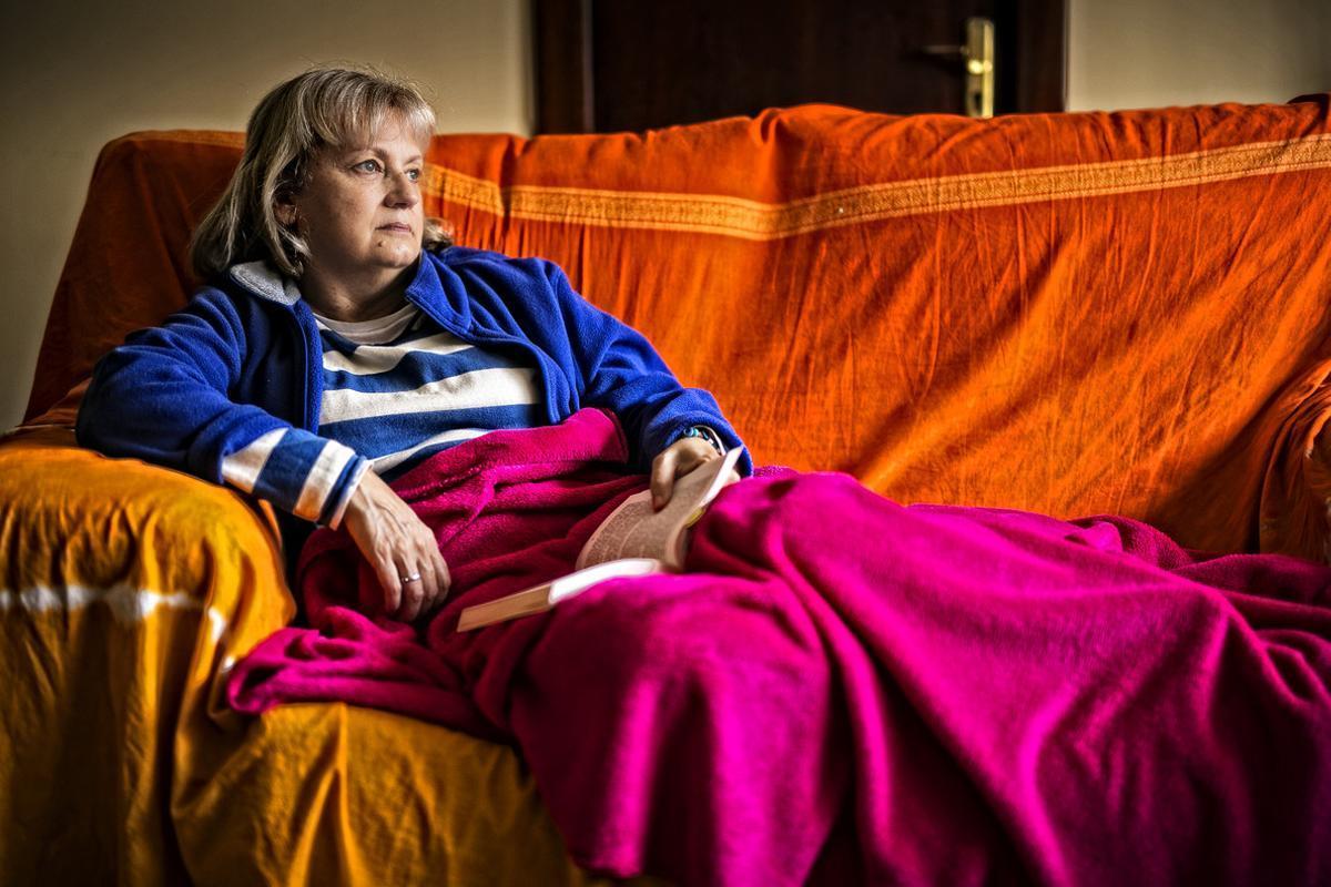 Clara Valverde, enferma y presidenta de la Liga SFC de Barcelona.