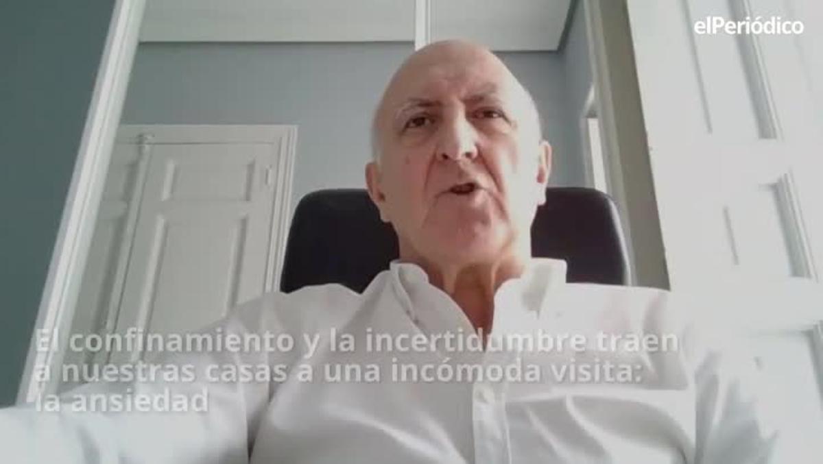 Antonio Cano Vindel, presidente de la Sociedad Española para el Estudio de la Ansiedad y el Estrés, recomienda calma y serenidad para que cuando aparezcael malhumor no arruine la convivencia con nuestros familiares durante el encierro.