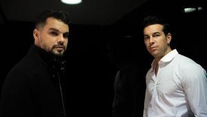 David Victori y Mario Casas, tras la presentación de 'No matarás' en el Festival de Sitges