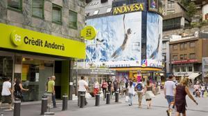 Imagen de una zona de Andorra, territorio considerado como paraíso fiscal por Oxfam-Intermón.