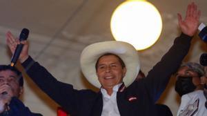Pedro Castillo nuevo presidente del Perú
