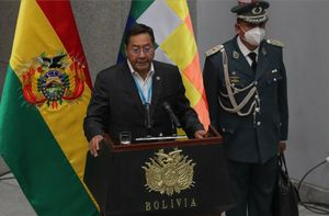 Luis Arce, presidente de Bolivia.
