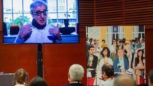 Woody Allen, en la rueda de prensa virtual de presentación de 'Rifkin's Festival'