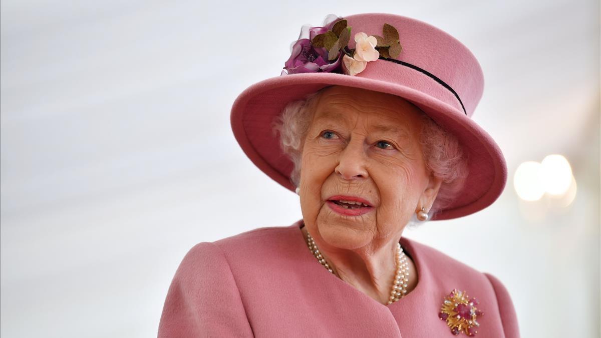 La reina Isabel II de Inglaterra, en una imagen de octubre de 2020