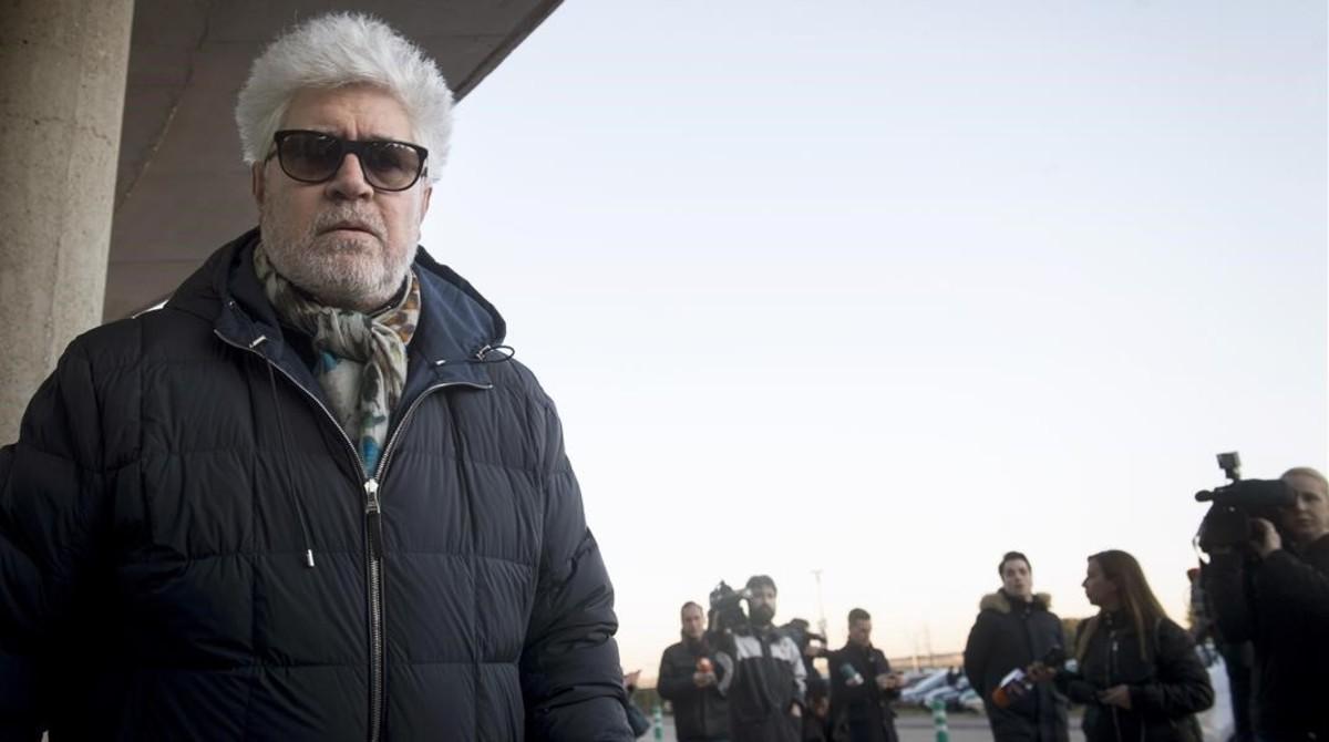 El director de cine Pedro Almodóvar.