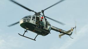 Helicóptero de la Guardia Civil, en una imagen de archivo.
