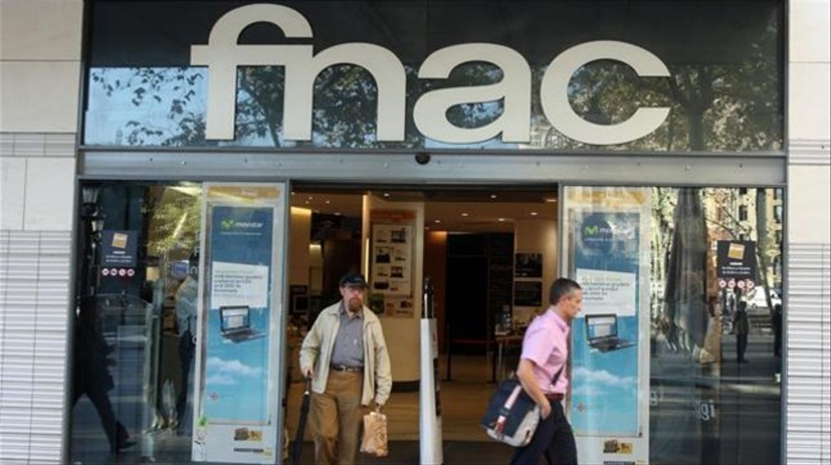 Establecimiento de la Fnac en Barcelona.