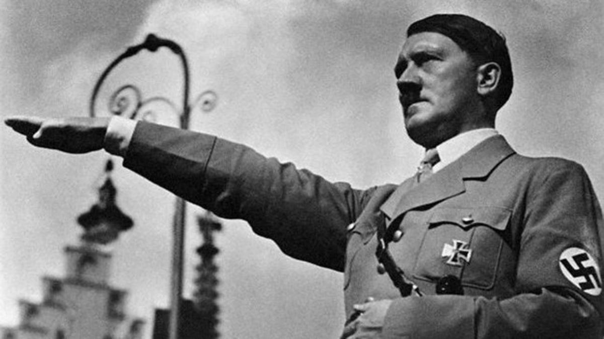 El líder del Partido Nazi alemán y canciller del Tercer Reich Adolf Hitler.