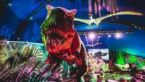 El Poble Espanyol presenta una espectacular colección de dinosaurios.