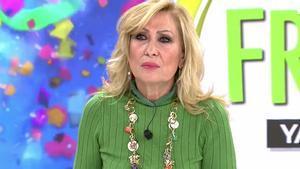 Rosa Benito sale en defensa de Jorge Javier Vázquez y lanza un dardo a Belén Esteban