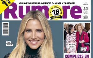 Detallede la portada de 'Rumore', con Elsa Pataki.