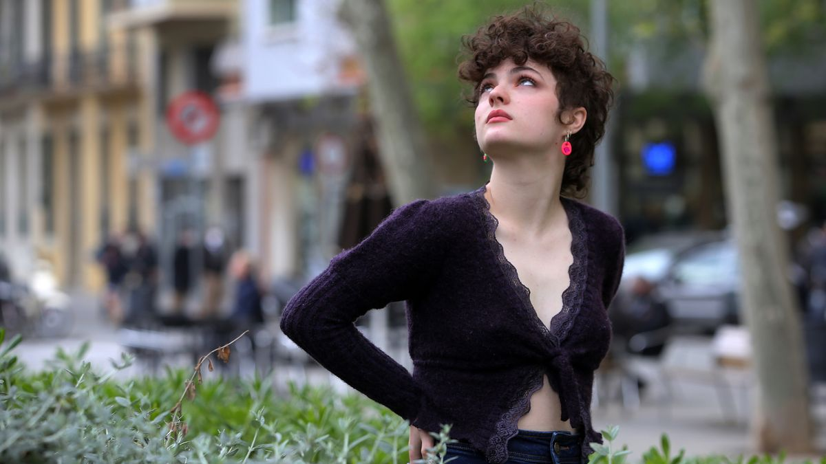 Anna Lukin, en Barcelona.