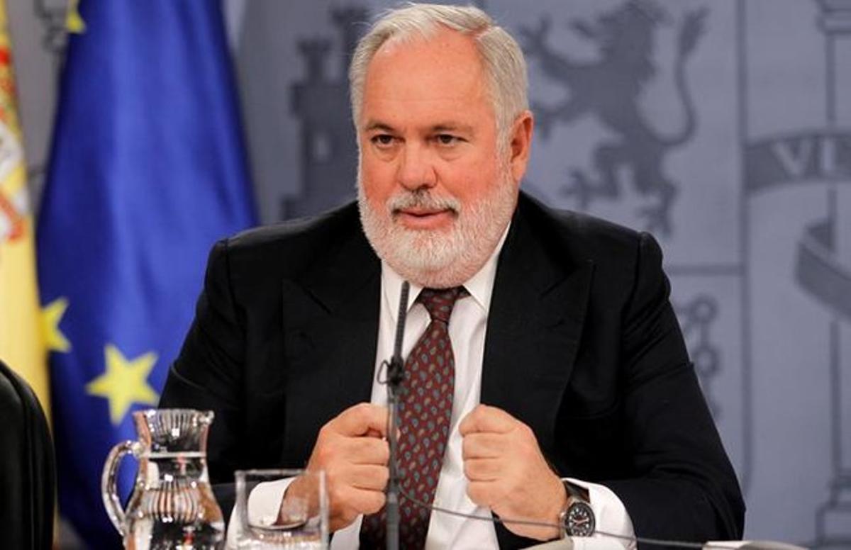 Miguel Arias Cañete, tras un Consejo de Ministros, el pasado octubre.