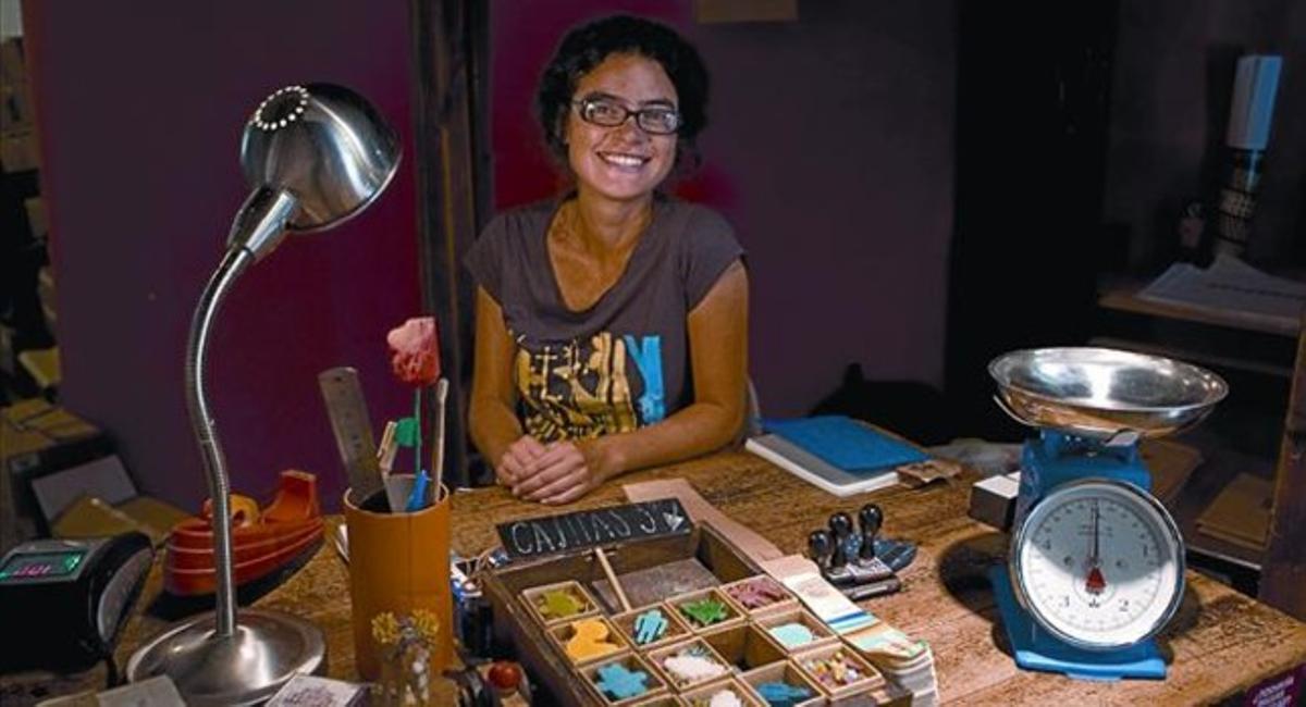 Eliana Sabater: «El olor a jabón es el de mi infancia en Buenos Aires»