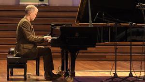 Brad Mehldau, en el Palau de la Música, este miércoles.
