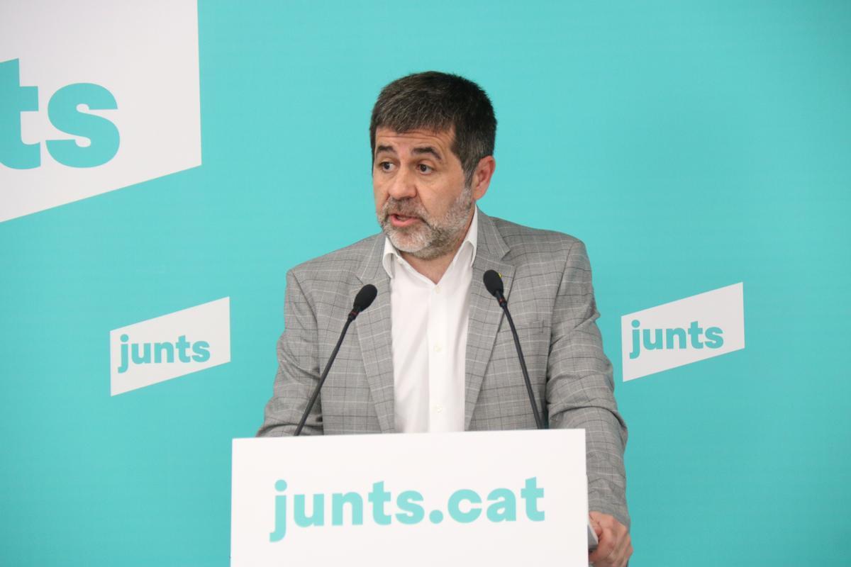 Jordi Sànchez es desdiu sobre l'1-O i nega la crisi interna