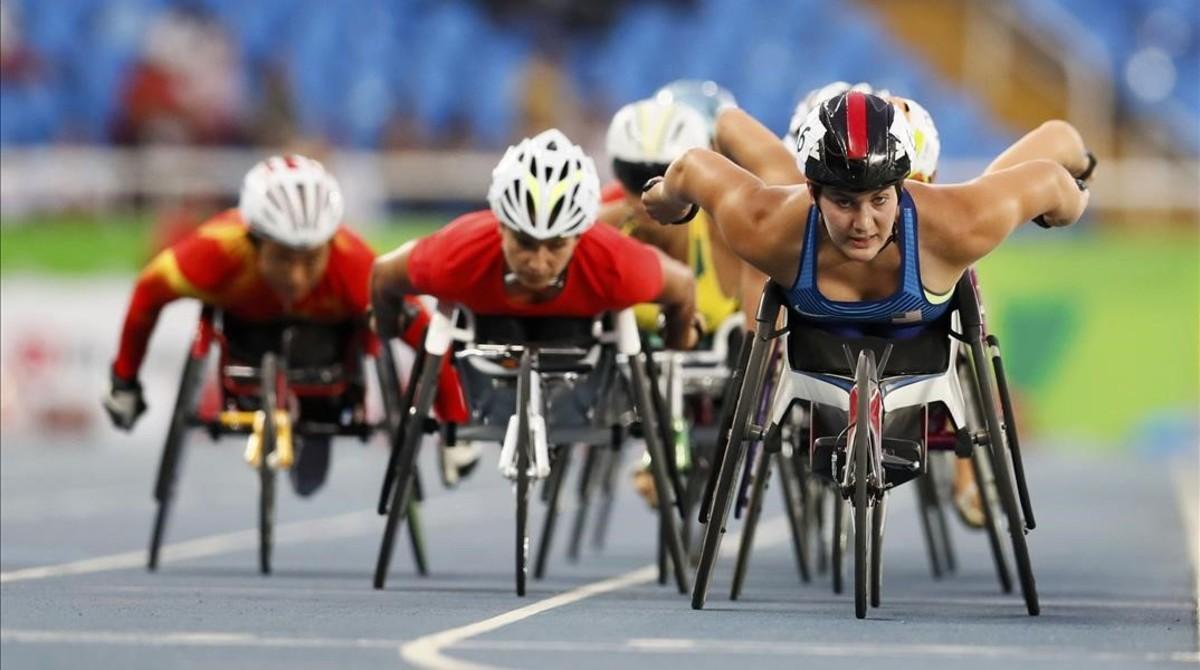 Juegos Paralimpicos. Final de 5000 metros mujeres