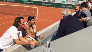 Nadal, a punt per al gran repte a Roland Garros