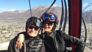 El actor y su esposa comparten dos fotografías en las redes sociales.