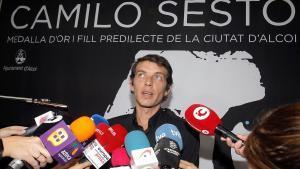 Camilo Blanes, este jueves en Alcoy.