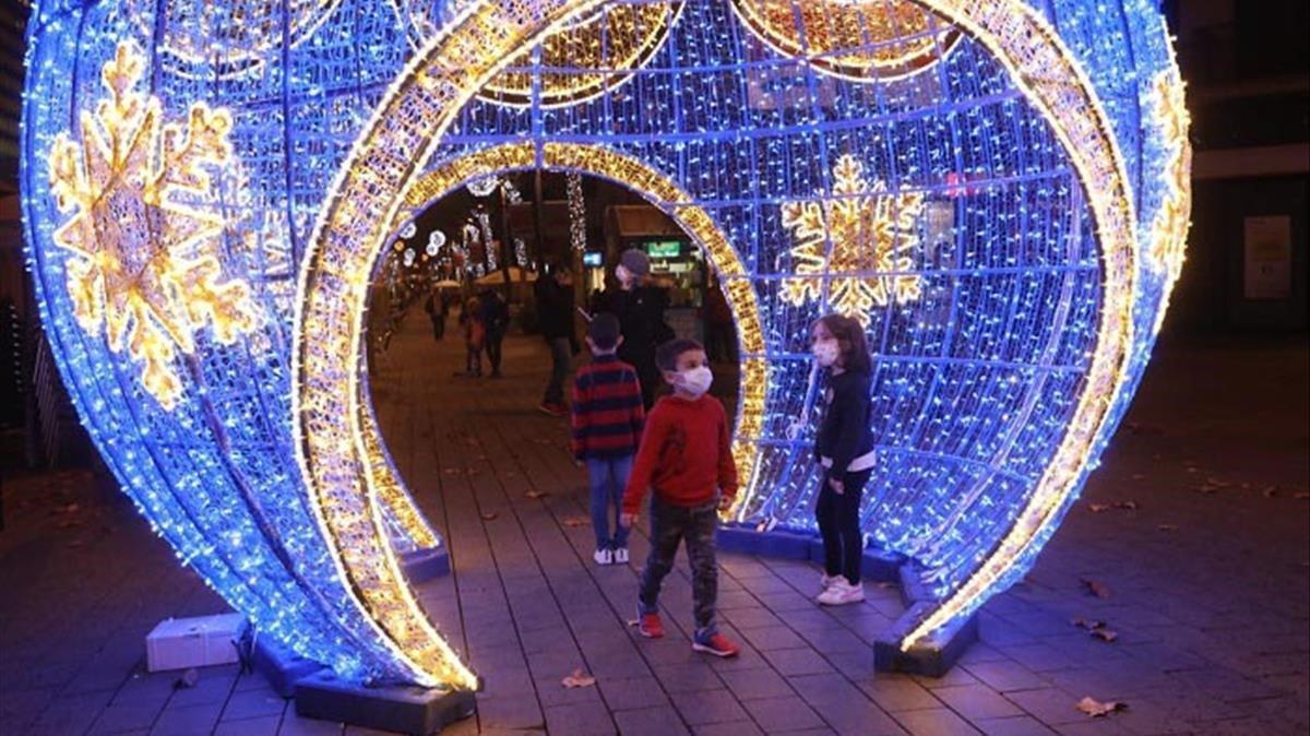 Gavà impulsa una campaña navideña para reactivar el comercio local