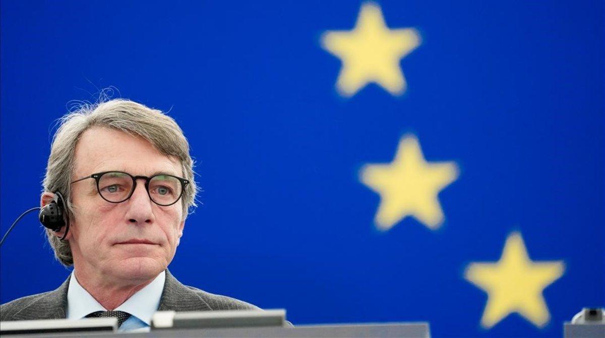 David Sassoli, presidente del Parlamento Europeo.