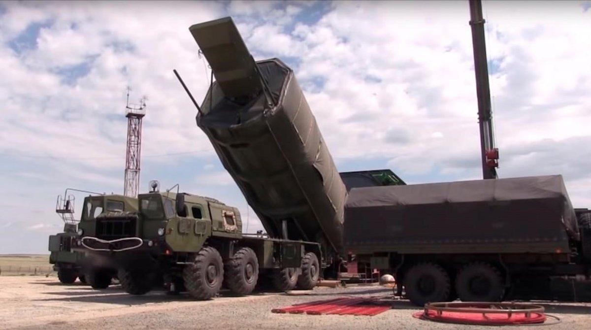 Captura de vídeo que muestra un sistema estratégico intercontinental 'Avangard', el pasado julio.