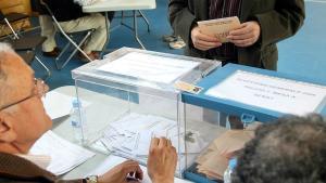 Urnas en las elecciones del 2008.