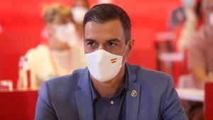 Sánchez reivindica el PSOE com el partit «valent» i «de l'esperança» després dels indults