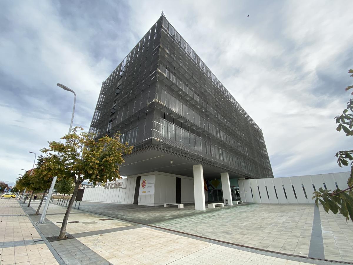 Edificio de INCIBE en León.