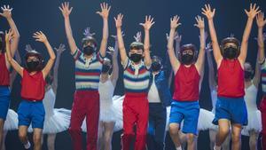 BARCELONA. 08.06.2021Presentacion del musical Billy Elliot en el Teatre Victoria. FOTO FERRAN SENDRA