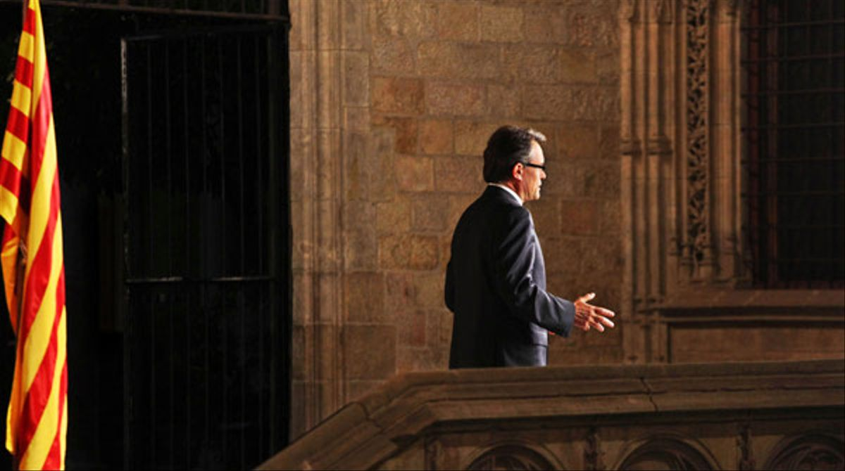 Discurso oficial del President de la Generalitat Artur Mas.