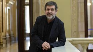 Jordi Sànchez, secretario general de Junts per Catalunya, en el Parlament