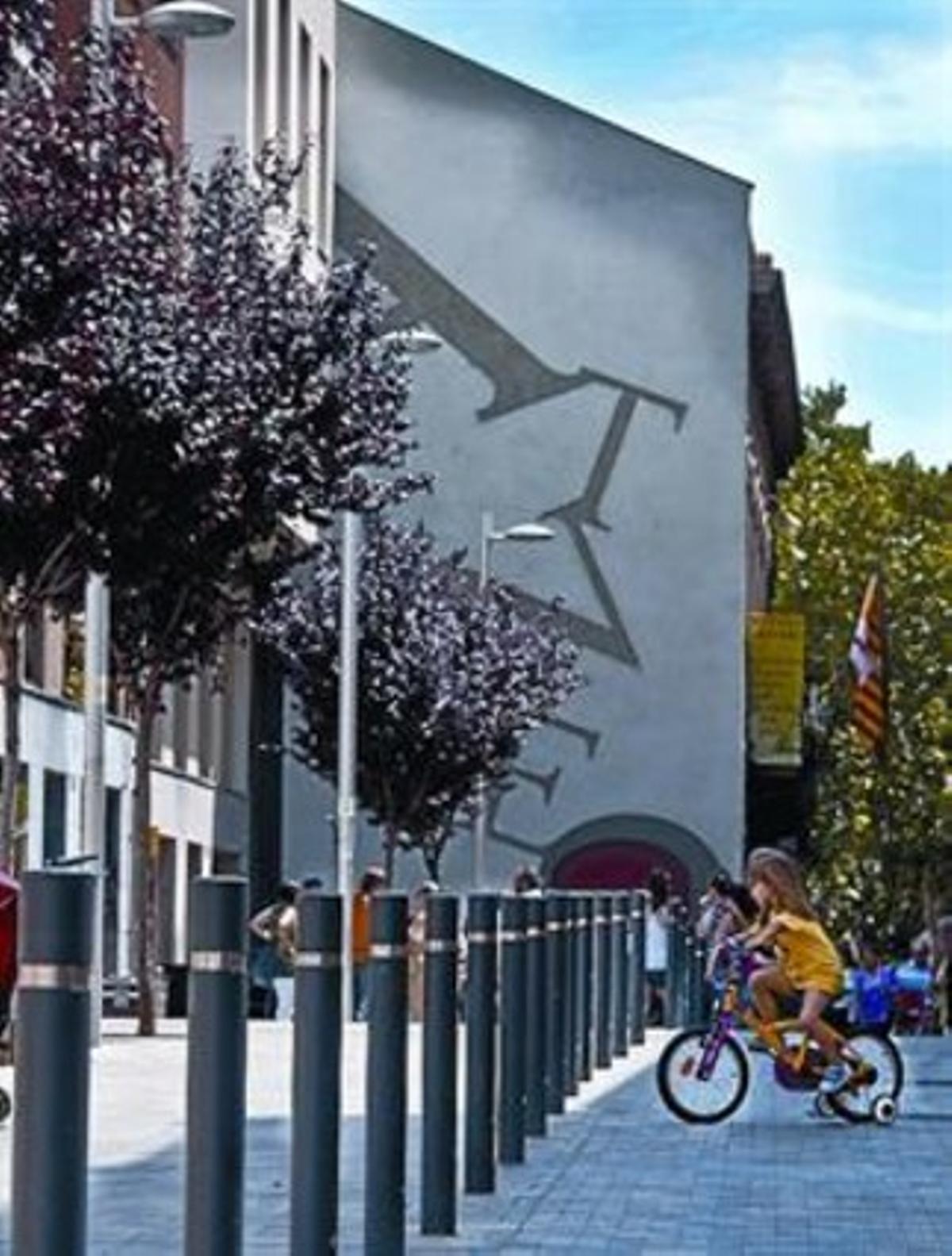 Obra inaugurada 8 La mitgera de l'Ateneu Hortenc, diumenge.