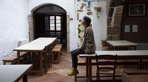 Torrelles de Llobregat 27 11 2020 Entrevista amb Nuria Font  propietaria d una casa de colonies Mas Can Mas que s esta reinventant per tal d aguantar la crisi de la covid    FOTO de FERRAN NADEU