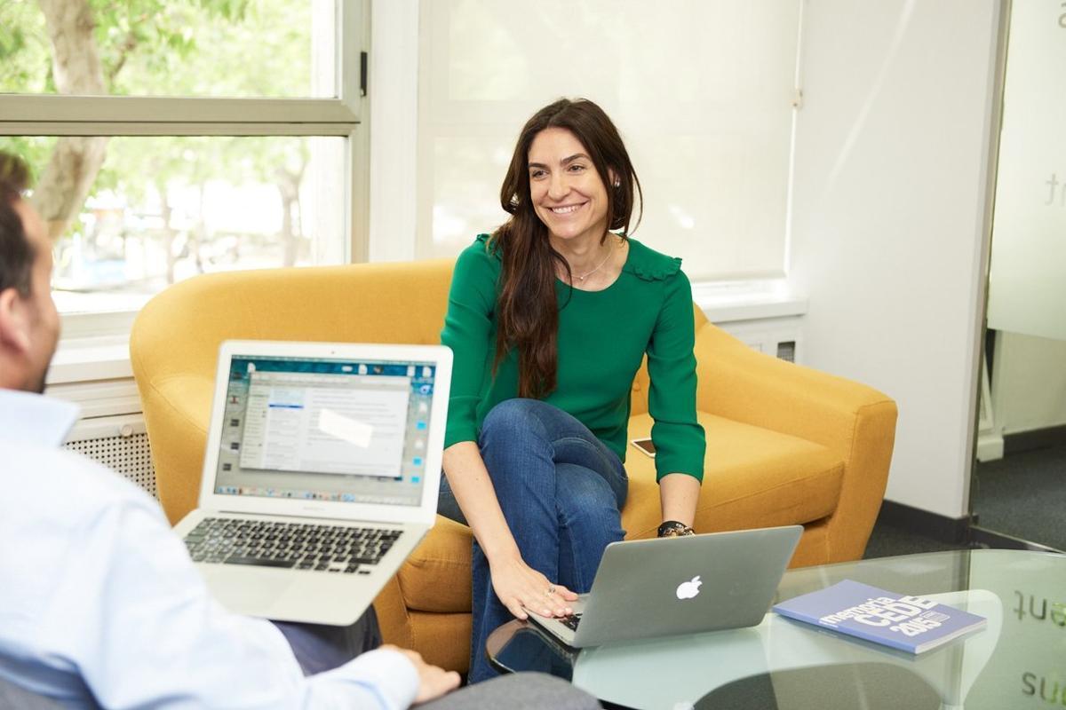 Laura de la Fuente, CEO de Snippet