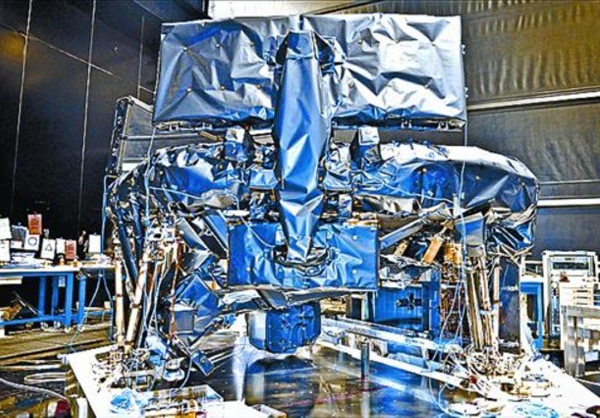 En el taller 8 Proceso de construcción del satélite Gaia.
