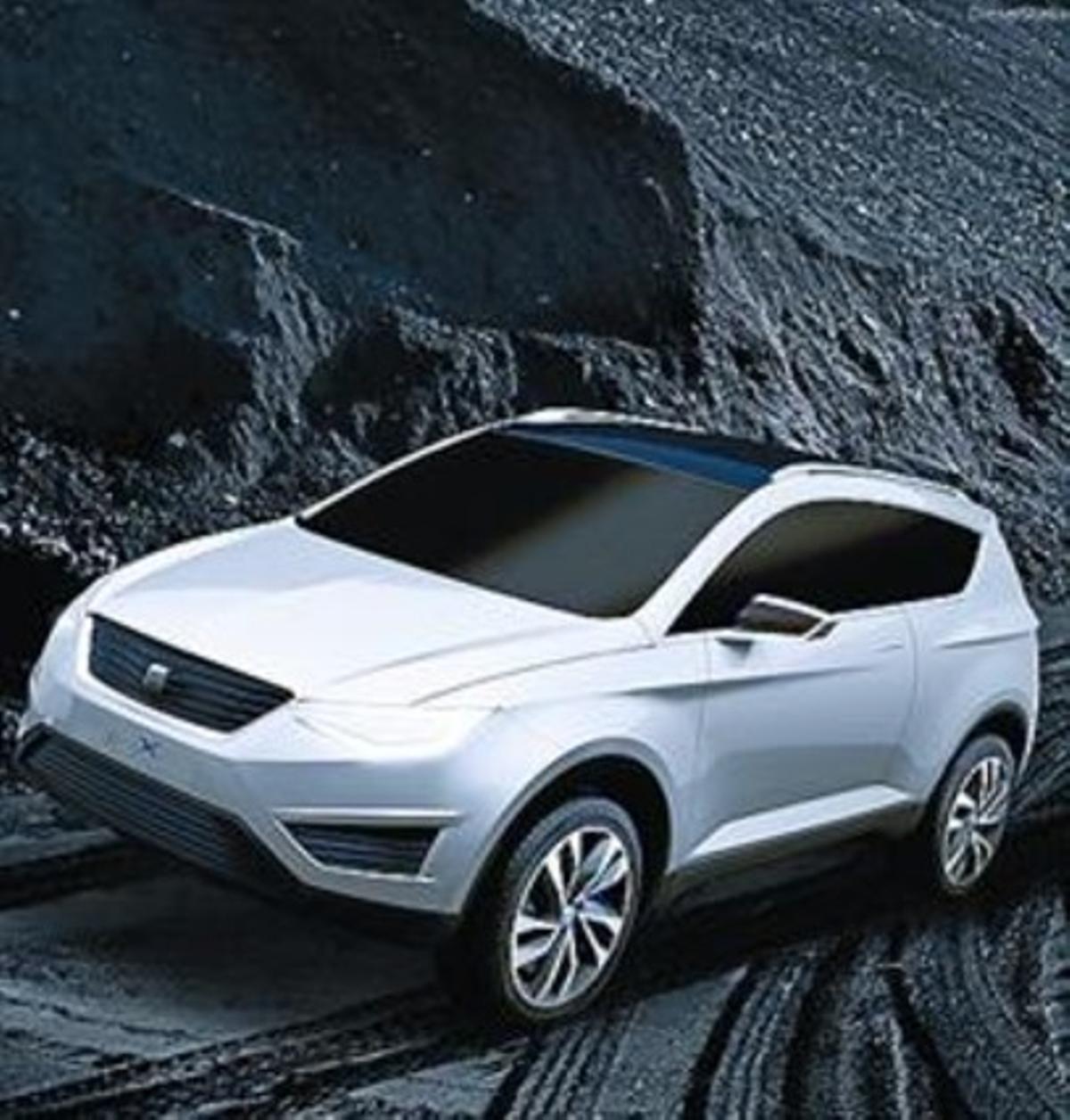 Seat IBX, el prototipo del futuro SUV.