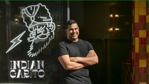 Mirch: 'burger' a l'estil indi al Raval