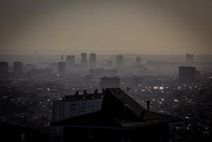 Panorámica de la ciudad de Barcelona en enero de 2020.