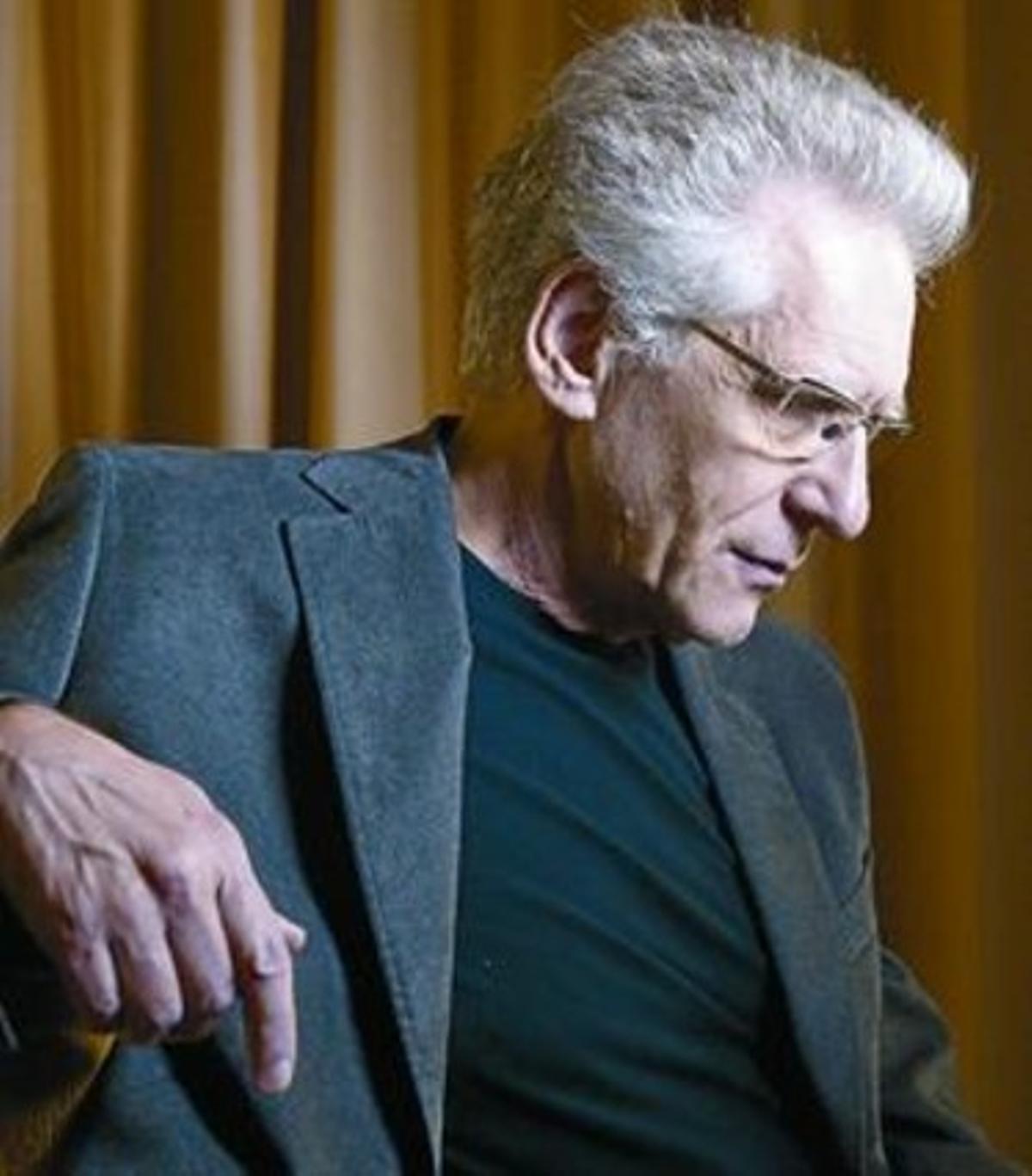 El director de cine canadiense David Cronenberg.