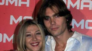 Carlos Navarro y Fayna Bethencourt, en una imagen del 2003.
