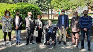 Mollet recorda les víctimes de Mauthausen en un homenatge 'íntim' per la pandèmia