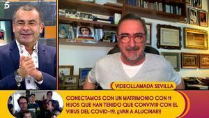 Jorge Javier entrevista Carlos Herrera a 'Sálvame': «Quan vulguis et faig un polígraf»